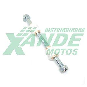 EIXO DA BALANCA C/ BUCHAS  SUZUKI YES 125 / INTRUDER 125 (215 X 14 MM) REGGIO