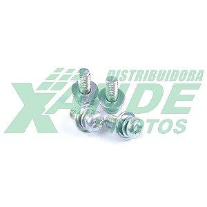 PARAFUSO PHY M4 X 10 FIXA PLATINADO TRILHA