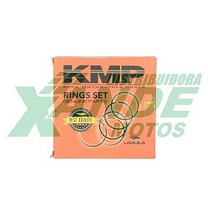 ANEL DO PISTAO TITAN 125 2002-2004 / FAN 125 2005-2008 KMP 2,00