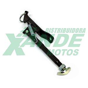 CAVALETE LATERAL AUXILIAR TRASEIRO REFORCADO P/ CARGA (MOTOBOY) PRETO PRO TORK