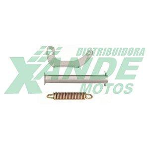 EIXO CAVALETE CENTRAL TITAN 150 / TITAN 2000 / FAN 125-150 (C/ SUP E MOLA)CHAPAM