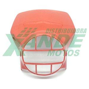 CARENAGEM FAROL XLX 250 / XL 250 R / XLS 125 VERMELHO PARAMOTOS