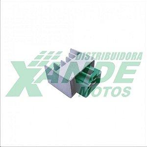 REGULADOR RETIFICADOR YBR / XTZ 125 / CRYPTON 105-115/ FACTOR ATE 2013 MAGNETRON