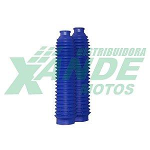 SANFONA 24 DENTES AZUL XLX 350 / DT 200 / XR 200 / CRF 230  CIRCUIT