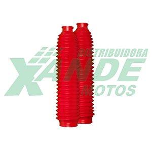 SANFONA 24 DENTES VERMELHA XLX 350 / DT 200 / XR 200 / CRF 230 CIRCUIT