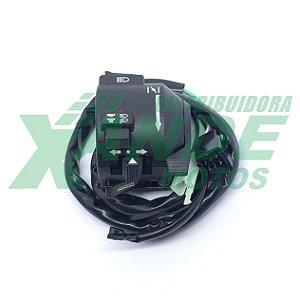 CHAVE DE LUZ CBX 250 ATE 2005 / CBX 250 2006-2008 (LADO ESQUERDO)[11 FIOS] MHX