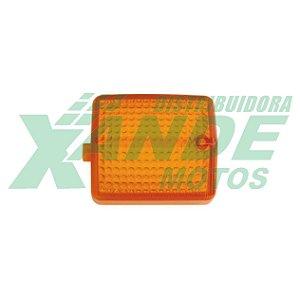 LENTE PISCA CBX 200 / XLX 350 / NX 150-200-350 AMARELA GVS