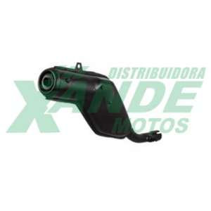 ESCAPAMENTO MODELO ORIGINAL XR 200 / NX 200 (PONTEIRA) FORTUNA