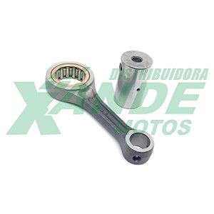 BIELA KIT TITAN 150 ESPECIAL P/PISTAO CBX 200 (PINO 15 -PREPARACAO-) TXK