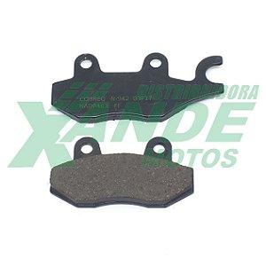 PASTILHA FREIO XTZ 125/XTZ 250/TTR 230/YES/KANSAS/MOTARD 200[DIANT] COBREQ (622)