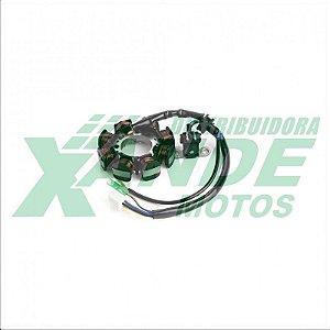 ESTATOR CPL DE BOBINAS YBR 2006-08/ FACTOR ATE 2010/ XTZ 125 ATE 2010 MAGNETRON