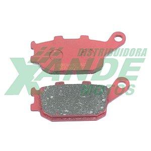 PASTILHA FREIO CB 300 / XRE 300 / HORNET [TRAS C/ABS] COBREQ RACING (628)