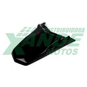 PARALAMA TRAS XTZ 125 PRETO PARAMOTOS (MODELO DA 2006-2008)
