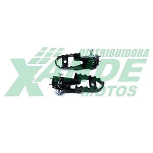 PEDALEIRA DIANT PAR NXR BROS/ CRF 230/ XR 250/ NX 400/XTZ 125 MOLA E PINO TRILHA