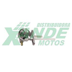 TORNEIRA GASOLINA YBR 125 / FACTOR 125 / XTZ 125 (COM BOTAO) SCUD