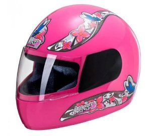 CAPACETE LIBERTY FOUR FOR GIRLS ROSA 56