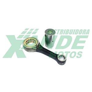 BIELA KIT TITAN 150 ESPECIAL P/PISTAO CBX 200 (PINO 15 -PREPARACAO-) VINI