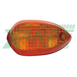 LENTE PISCA YBR FACTOR/ FAZER 150 / XTZ 150 / XTZ 250 LANDER 09-16 AMARELA GVS