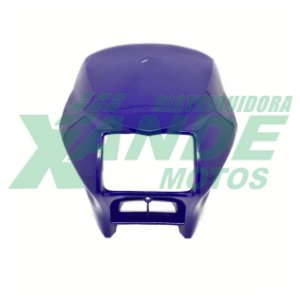 CARENAGEM FAROL NXR BROS 125 / 150 AZUL 2002-04 PARAMOTOS