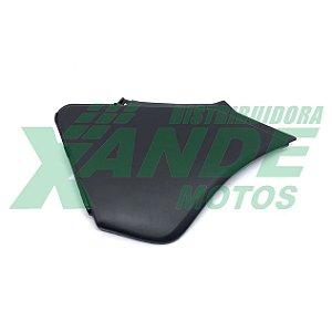 TAMPA LATERAL (COMPLEMENTO) XR 250 TORNADO (LADO DIREITO) PRETO PARAMOTOS