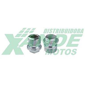 TAMPA TUBO SUSPENCAO  SUPERIOR TITAN 125 (99-2000)/FAN 125 05-08/BIZ 100 TRILHA
