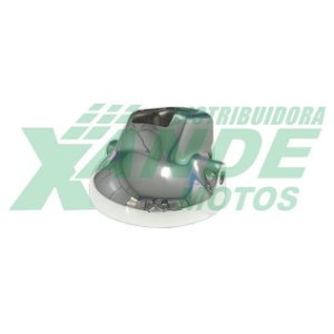 CARCACA FAROL CBX 250 TWISTER ATE 2005 / CBX 200 STRADA CROMADO PLASMOTO