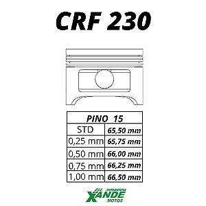 PISTAO KIT CRF 230 KMP/ RIK 1,00