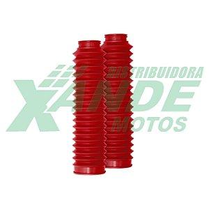 SANFONA 18 DENTES VERMELHA NXR BROS 125-150/XTZ 125/DT 180/XLX 250 CIRCUIT
