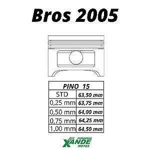 PISTAO KIT NXR BROS 150 OHC ATE 2005 KMP 2,00