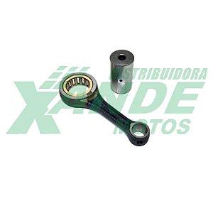 BIELA KIT TITAN 150 ESPECIAL P/PISTAO CBX 200(PINO 15)[-2 MILIMETROS ALTURA] TXK