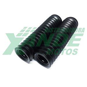 SANFONA 18 DENTES PRETA NXR BROS 125-150/XTZ 125/DT 180/XLX 250 CIRCUIT