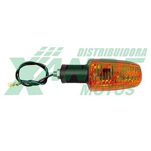 PISCA TITAN 150-2000 / CBX 250 (DIANT DIR/TRAS ESQ) AMARELO C/ BORRACHA GVS