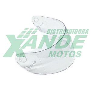 VISEIRA CAPACETE VAZ V10-100 2MM CRISTAL POLIVISOR