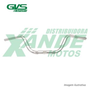 GUIDAO SUZUKI INTRUDER 125 CROMADO GVS
