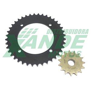 COROA E PINHAO XT 600E / XT 600 TENERE (PASSE 520) [40/15] COSER