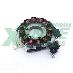ESTATOR CPL DE BOBINAS FAZER 150/XTZ 150 CROSSER/FACTOR 125I/FACTOR 150 JEC/MHX
