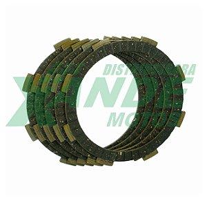 DISCO EMBREAGEM TITAN 150-160/FAN 125-150-160/BROS 125-150-160/XRE 190 VEDAMOTOR