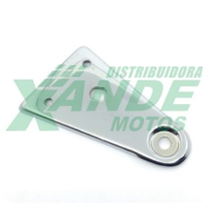 SUPORTE FAROL (ORELHA) CBX 200 CROMADO [ESQUERDO] MOFARDINI