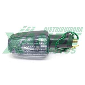 PISCA XRE 300 / CB 300 / NX 400I (DIANT DIR / TRAS ESQ) CRISTAL FUME STLU