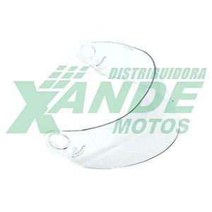 VISEIRA CAPACETE MIXS MX5 / FOKKER (INJETADA) CRISTAL 2,2MM POLIVISOR