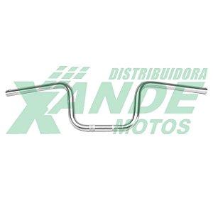 GUIDAO TITAN 150 2004-2008 CROMADO COMETA