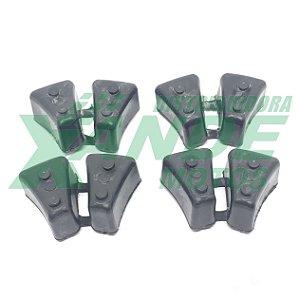 BUCHA COROA C/ CHOQUE DAFRA NEXT 250   (JOGO C/4 PCS) EMBUS