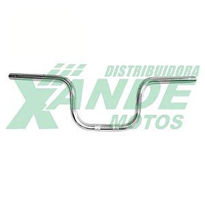GUIDAO TITAN 150-160 2014 / FAN 125-150-160 2014 C/ BUCHA ESTAB CROMADO COMETA