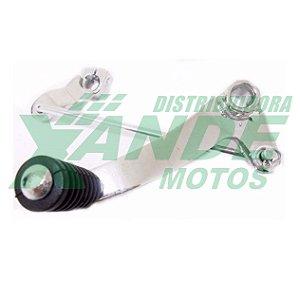 PEDAL CAMBIO FAZER 250 (COMPLETO) CROMADO DANNIXX