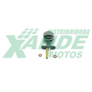 TORNEIRA GASOLINA YBR 125 / FACTOR 125 / XTZ 125 (COM BOTAO) ILLION