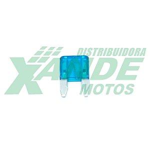 FUSIVEL ENCAIXE MINI 15 AMPERES CBX 250 / TITAN 150 (AZUL) EMBUS