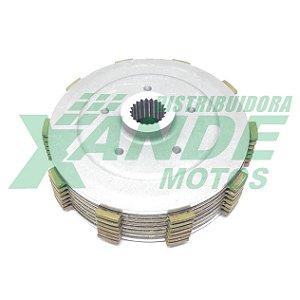 CUBO CENTRAL EMBREAGEM [KIT] NX 400 FALCON DANNIXX / MHX