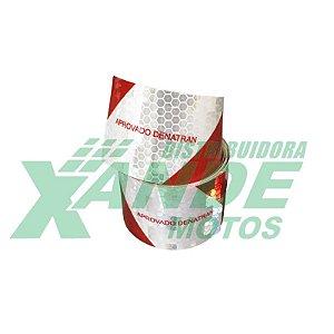 KIT REFLETIVO PARA BAU DE MOTOBOY (1 FAIXA GRANDE 1,5M ) AVERY DENNISON