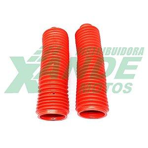 SANFONA 27 DENTES VERMELHA XLX 350 / DT 200 / XR 200 / CRF 230  X-CELL