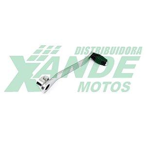 PEDAL CAMBIO YBR 125 / FACTOR 125 CROMADO SMART FOX